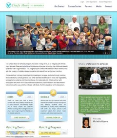 Chefs Move to Schools