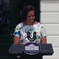 Watch Michelle Obama's address to chefs