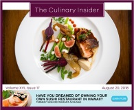 Screenshot of The Culinary Insider