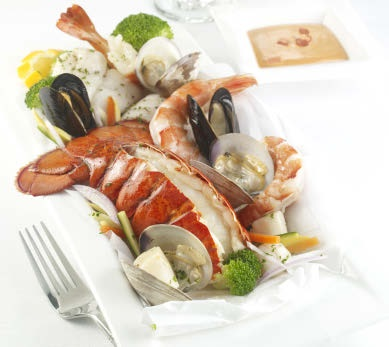Seafood en Papillote