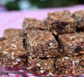 White House Peanut Butter Granola Bars