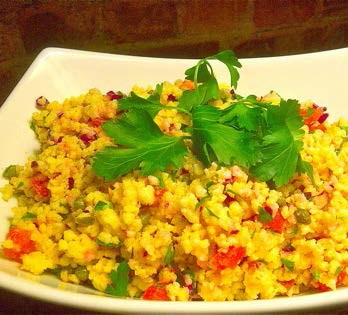 Greek-Inspired Millet Salad