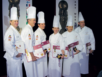 Photo of ACF Culinary Team USA at