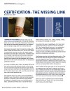 Certification:  the Missing Link [PDF]