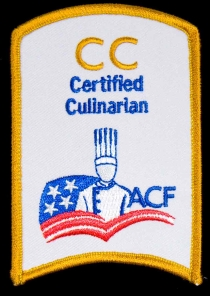 Certified Culinarian Patch