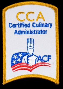 Certified Culinary Administrator Patch
