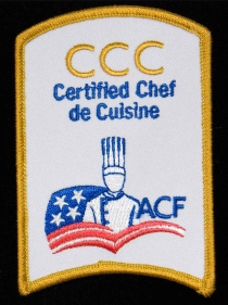 Certified Chef de Cuisine Patch
