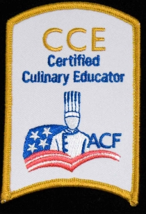 Certified Culinary Educator Patch
