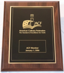 ACF Membership Plaque