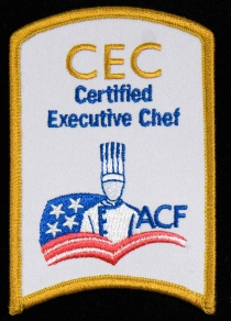 Certified Executive Chef Patch