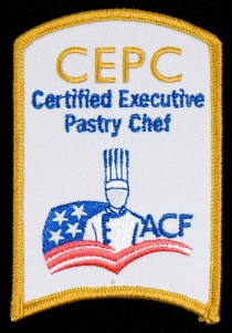 Certified Executive Pastry Chef Patch
