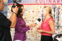 Cat Cora speaks with ACF-TV after her book signing about what it means to be a chef