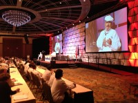 Paul Prudhomme inspires chefs with stories from his career