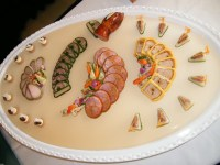 Cold food plate