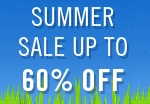 Summer sale up to 60% off