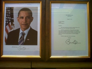Photo of and 