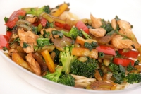 Chipotle Cashew Chicken & Broccoli Stir-Fry