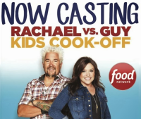 Now Casting Rachael vs. Guy Kids Cook-off