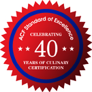 Celebrating 40 Years of Culinary Certification
