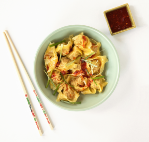 Duck Wontons with Chili Oil (Classical)