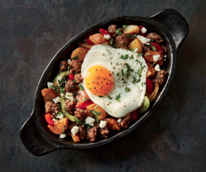 Greek Lamb and Potato Hash