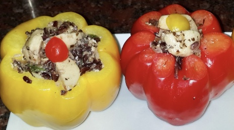 Stuffed Sweet Bell Pepper
