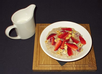Red Berry Breakfast Risotto