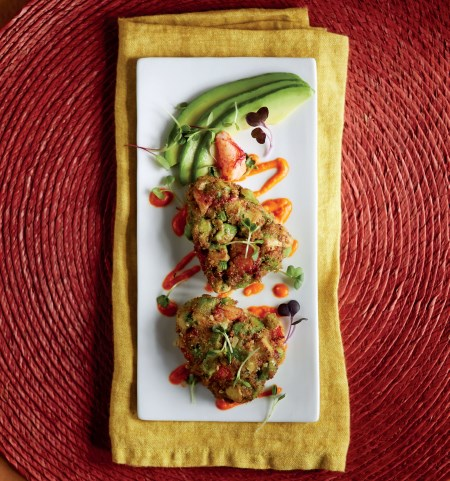 Avocado Lobster Cakes