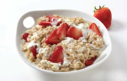 Strawberry Cheesecake Oatmeal