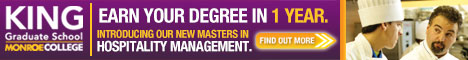 Earn your degree in one year at King Graduate School at Monroe College