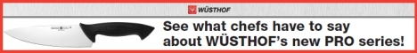 See what chefs have to say about Wüsthof's new PRO series!