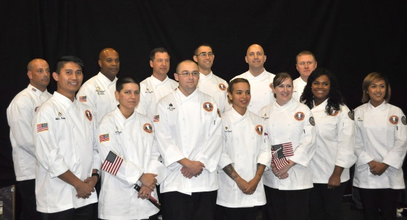 2016 U.S. Army Culinary Arts Team